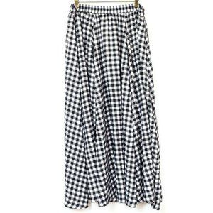 Cato Plaid Full Skirt 18 20 New Maxi Long Modest